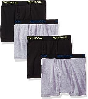 b5e65661a456 Fruit of the Loom Men's 4-Pack Premium Dri-Stretch Short Leg Boxer Brief