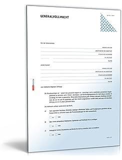 generalvollmacht pdf vollmacht fr die rechtsverbindliche willenserklrung download - Generalvollmacht Muster Kostenlos