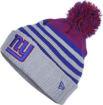 75dab25f141 New Era Snowfall Stripe NY Giants Beanie  Amazon.de  Sport   Freizeit