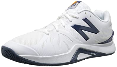 New Balance Mens 1296v2 Tennis Shoe WhiteBlue