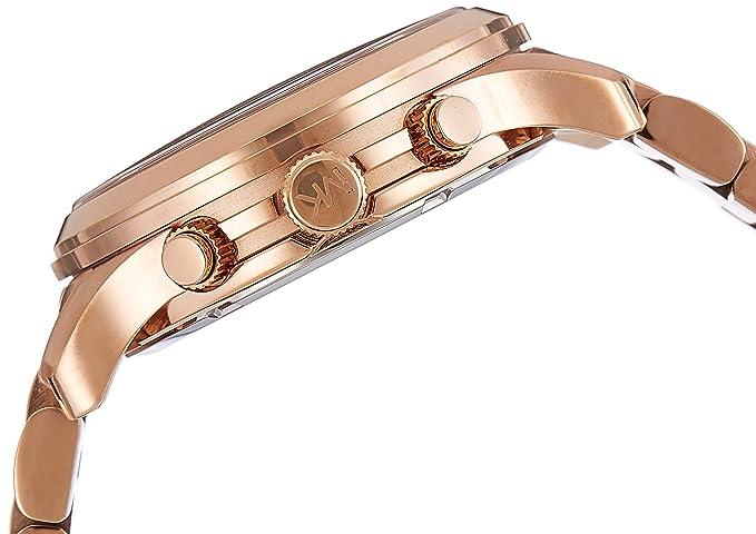 d65bc34f7f7c Amazon.com  Michael Kors Women s Runway Rose Gold-Tone Watch MK5128  Michael  Kors  Watches