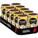 Nescafé Cappuccino Texture Extra Crémeuse, Café Instantané, Boîte 10 x 250 g, 012202495