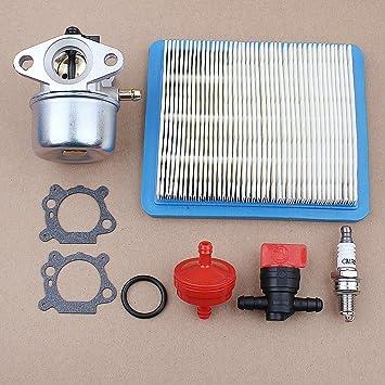 Kit de servicio filtro de aire y piezas compatible con Briggs Stratton 675 190cc 126m02