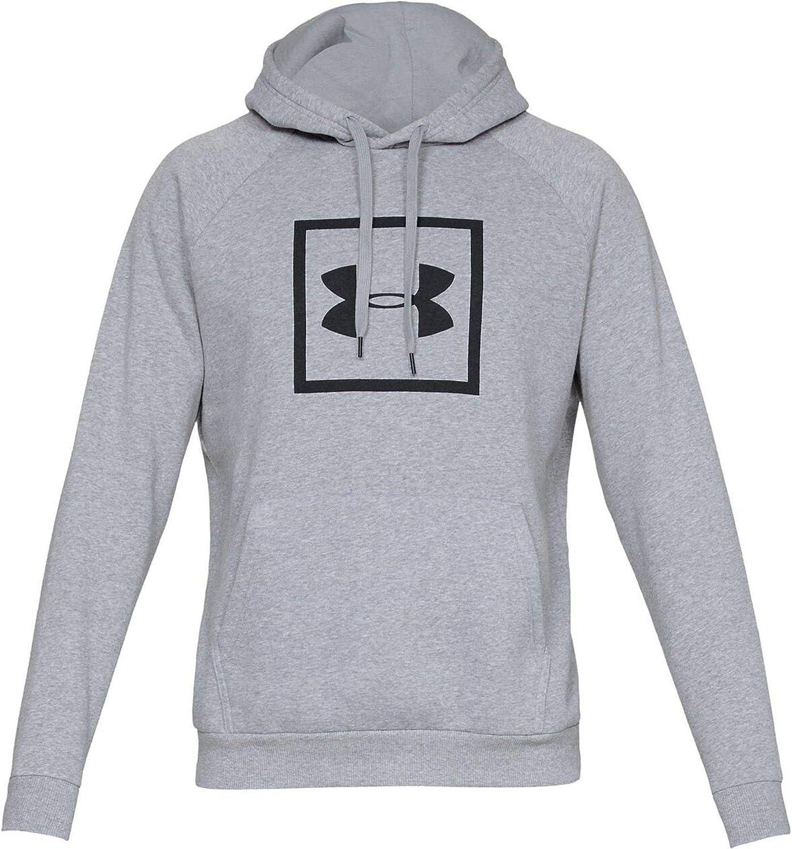 Under Armour Rival Fleece Logo Hoodie, Sudadera para Hombre ...