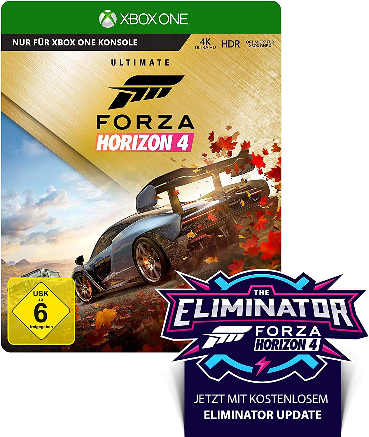 Forza Horizon 4 - Ultimate Edition - Xbox One [Importación alemana]: Amazon.es: Videojuegos
