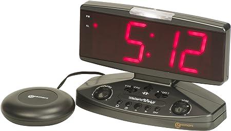 Geemarc Dual Alarm Clock with Powerful