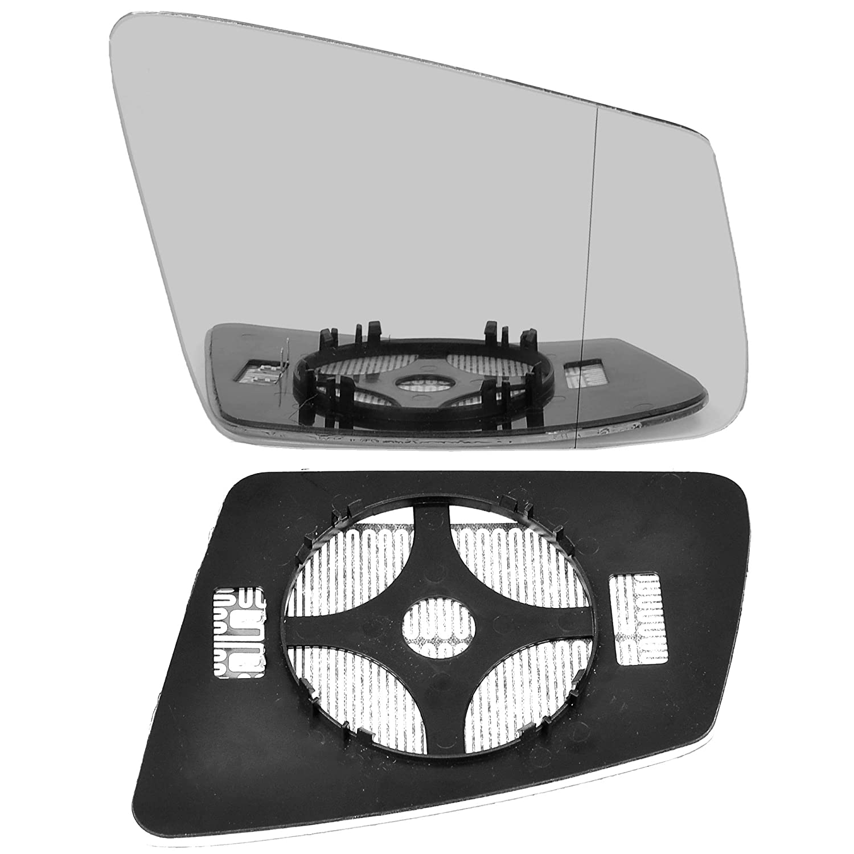 driver side wing door clip mirror glass W212 heat # MeC-C//E02-2014904//590 Right hand