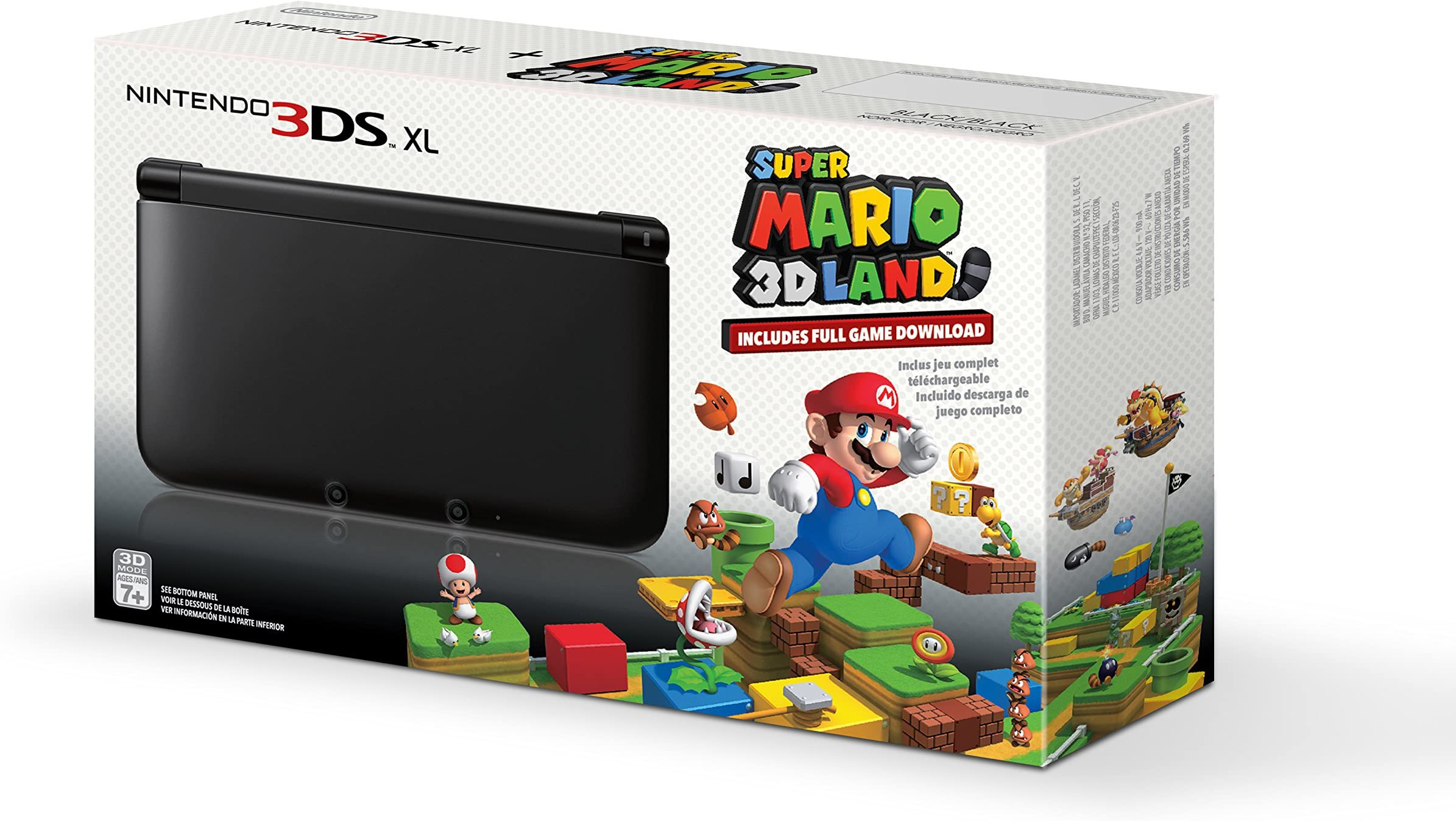 Amazon com: Black Nintendo 3DS XL with (Pre-installed) Super