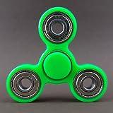 Fidget Spinner Star Brass Hand Toy Finger Bar EDC Pocket Desktoy ADHS neon grün 3D Druck