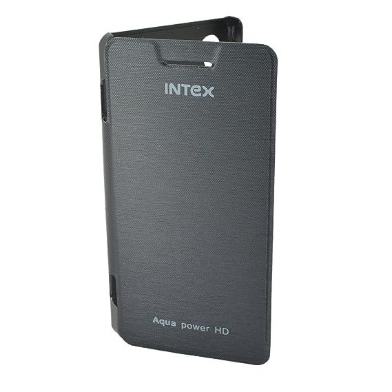 best wholesaler a0dda ceb07 TOTTA Hard Back Flip Cover For Intex Aqua Power HD