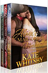 Texas Brides - 3 Book Bundle Box Set: A Clean Historical Mail Order Husband series Kindle Edition