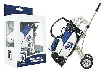 PGA Tour Gadget Desktop Golftasche Und Kugelschreiber Geschenkset Portabolígrafos en Forma de Bolsa de golfy Set de bolígrafos en Estuche de Regalo, ...