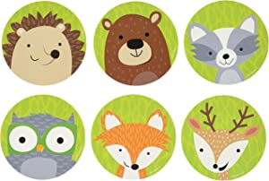"Creative Teaching Press Woodland Friends Cut Outs, 3"" (Accent for Calendars, Bulletin Boards and Classrooms, Learning Spaces and More) (8082)"