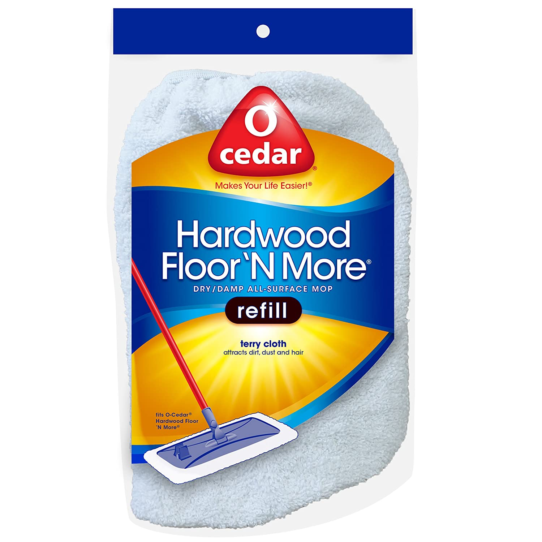 Amazon.com: O Cedar Hardwood Floor U0027N More Terry Cloth Refill: Home U0026  Kitchen
