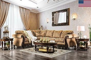 Amazon.com: Esofastore Formal Traditional Living Room ...