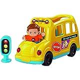 VTech 162905 - Jouet Musical - Tut Tut Copains - Mon Super Bus Magique + Vincent, Mr Prudent
