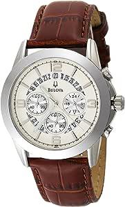 Bulova Men's 96G74 Chronograph Strap Watch
