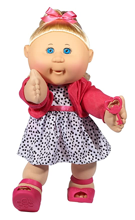Amazon Com Cabbage Patch Kids 14 Kids Blonde Hair Blue Eye Girl