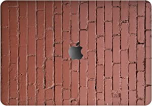 "Vonna Vinyl Decal Skin for Apple MacBook Pro 16"" 2019 Pro 13"" 2020 Retina 15"" Air 13"" 2018 Mac Air 11"" Mac 12 Print Cover Stone Sticker Laptop Urban Pattern Brick Wall Texture Nude Protective t0135"