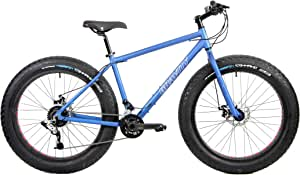 "Aluminum Fat Bikes with Powerful Disc Brakes Gravity Monster Mens Fat Tire Bicycle 26"" x 4"""