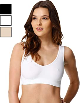 Yenita Pack de 2 Sujetadores deportivo Sin costuras para mujer: Amazon.es: Ropa y accesorios