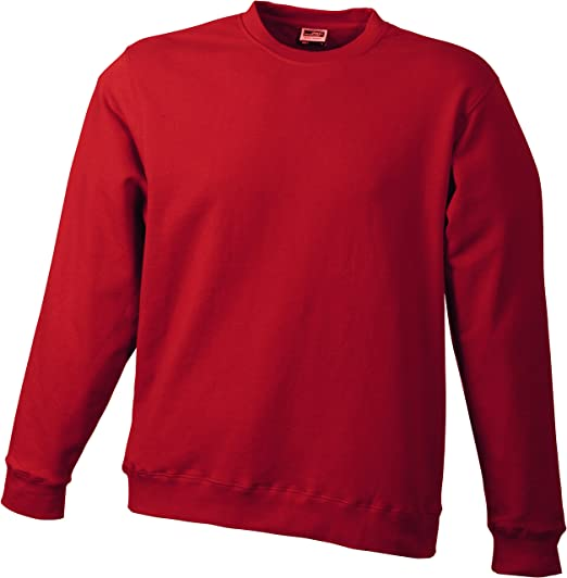 TALLA XL. James & Nicholson – Sudadera Basic Sweat