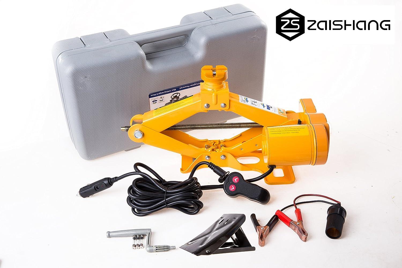 ZS ZAISHANG cric per auto martinetto elettrico da 12 V 2 tonnellate