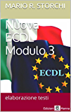 Nuova ECDL – Modulo 3 (elaborazione testi)