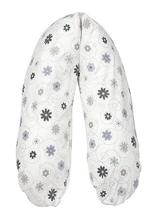 Flexofill - Funda de almohada para lactancia para Flexofill - M - 170 x 34 cm - 532 Flores
