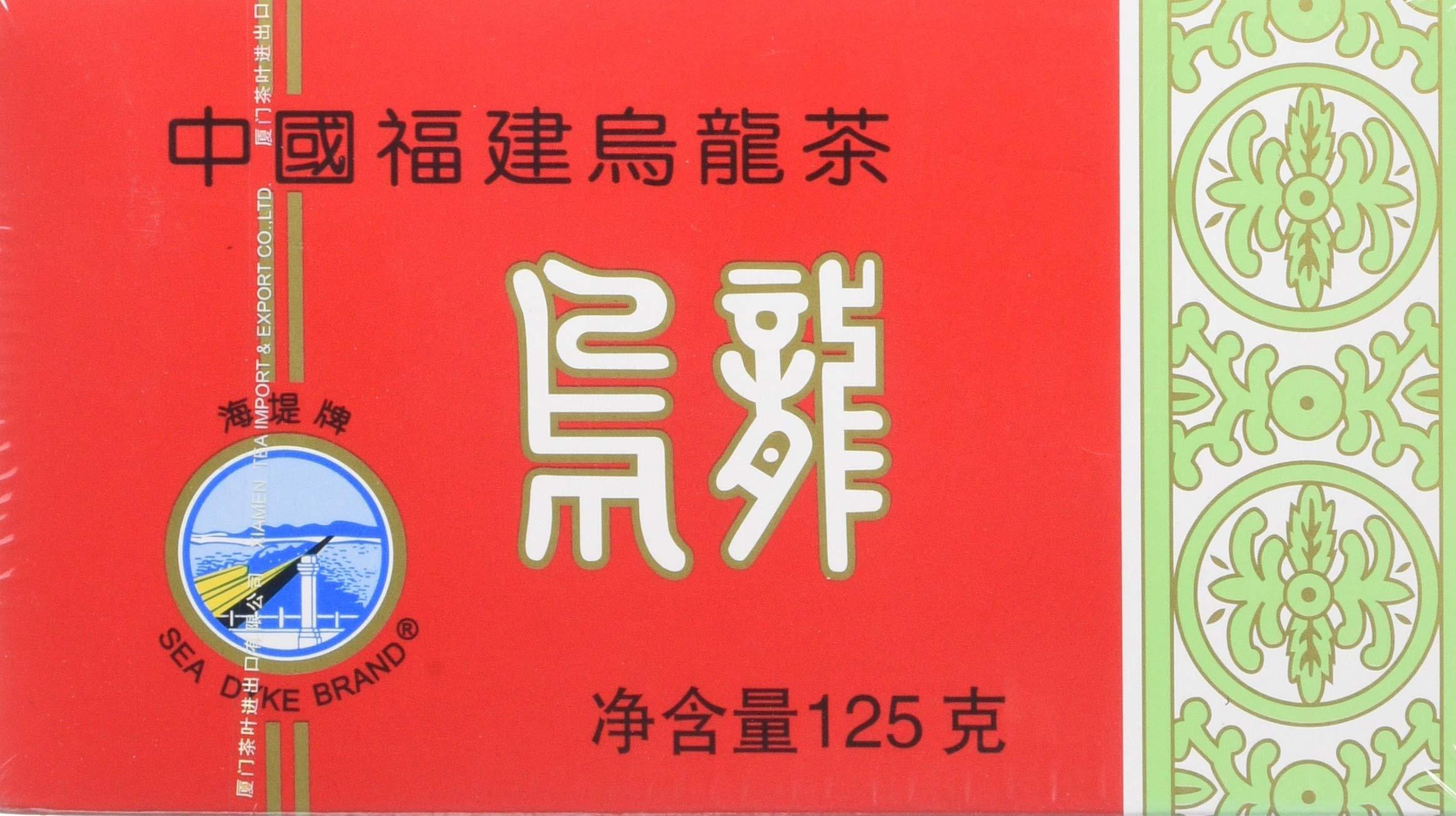 Sea Dyke China Fujian Oolong Tea, 125 g, Red