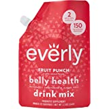 Everly Belly Health - Probiotic Supplement, Sugar Free, Natural Sweeteners (Stevia & Organic Erythritol), No Calories, Water