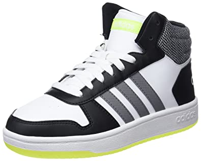 pick up 64be5 fb380 adidas Hoops Mid 2.0 K, Chaussures de Fitness Mixte Adulte, Blanc (Ftwbla