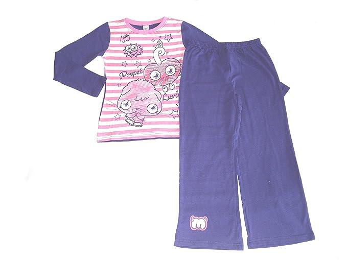 Moshi Monsters Ropa de Descanso para niñas Pijama sifón Sea de Seguridad para Anclaje en 5