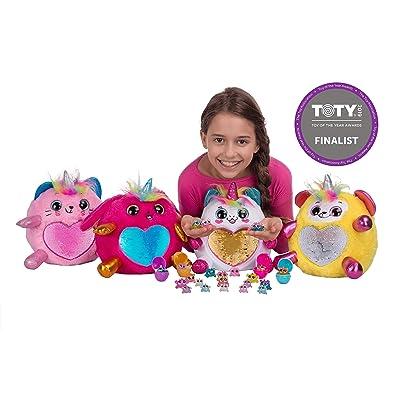 Rainbocorns Bunny Plush Toy, White: Toys & Games