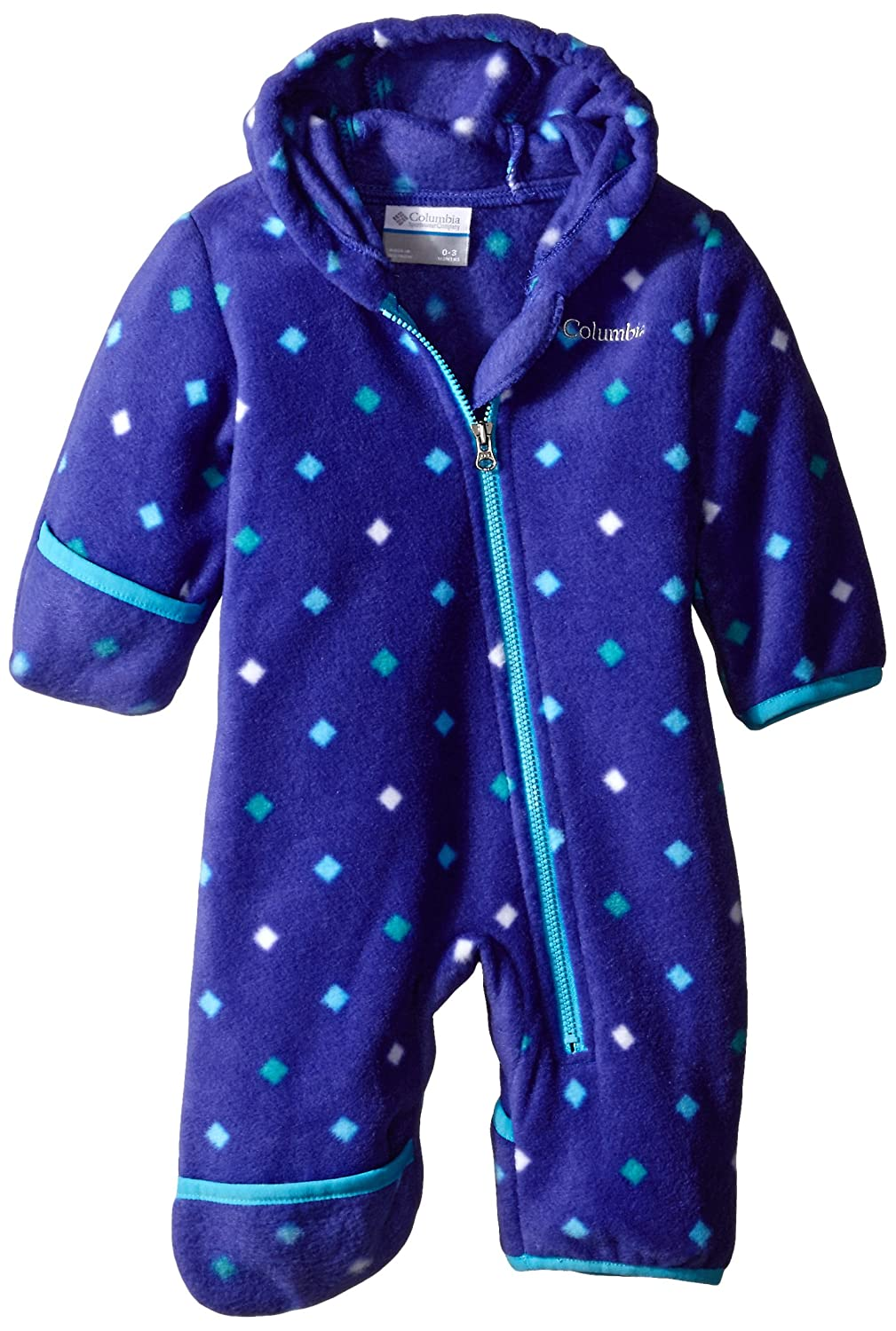 a2b7c909d Amazon.com: Columbia Baby Girls' Snowtop II Bunting: Clothing