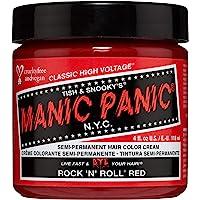 Manic Panic Rock N Roll Vibrant Red Hair Dye Color