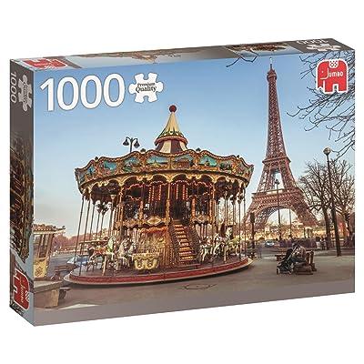 Jumbo 618547 - Puzzle de 1000 piezas, Paris - France: Juguetes y juegos