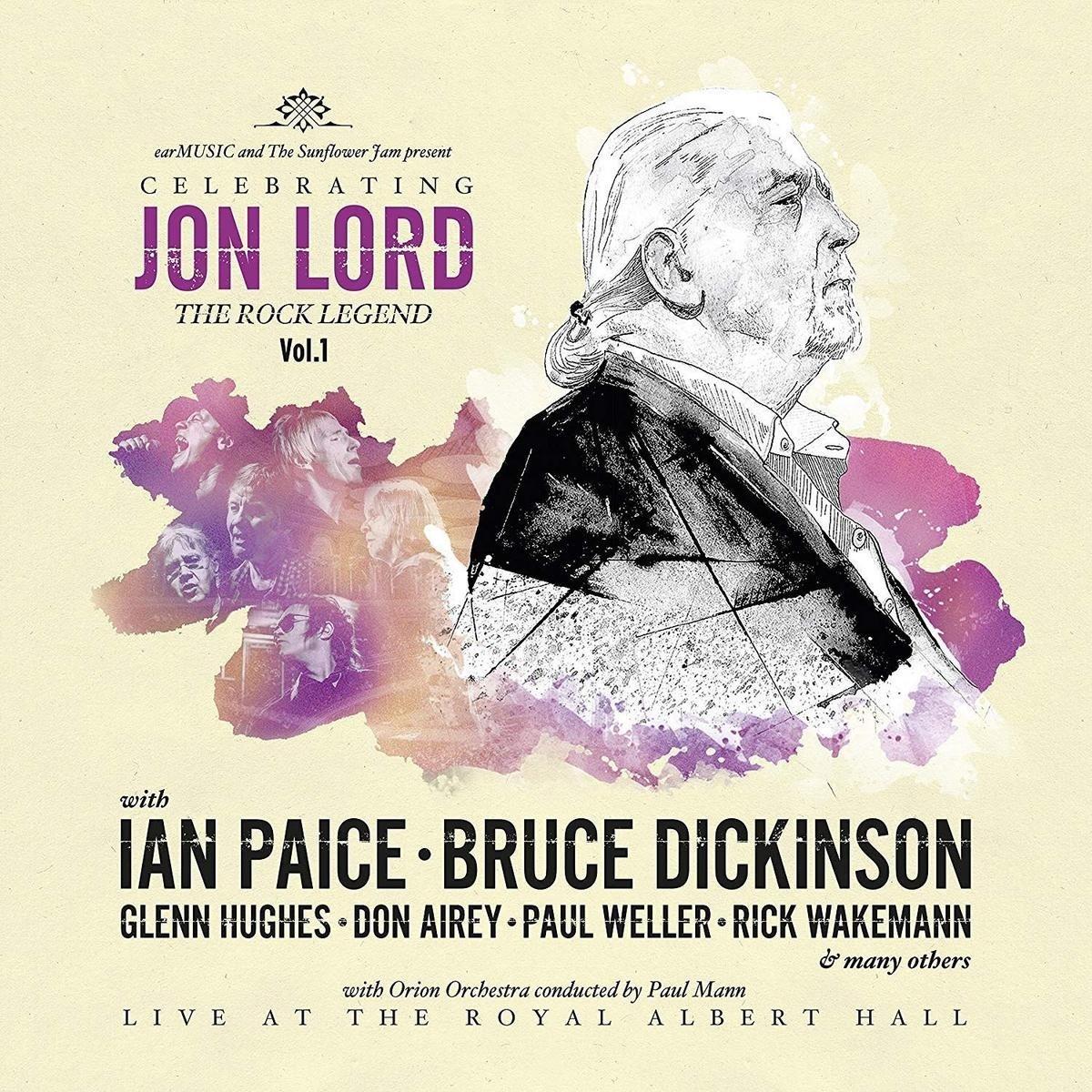Vinilo : JON LORD, DEEP PURPLE & FRIENDS - Celebrating Jon Lord: The Rock Legend Vol 1 (United Kingdom - Import)