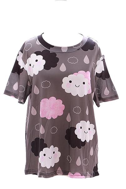 Kawaii-Story - Camiseta - para Mujer Multicolor Multicolor Talla única