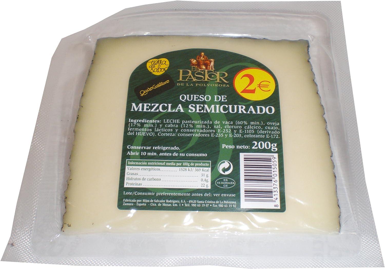EL PASTOR DE LA POLVOROSA queso mezcla semicurado cuña 200 gr ...