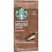Starbucks House Blend Medium Roast Ground Coffee Bag, 200g