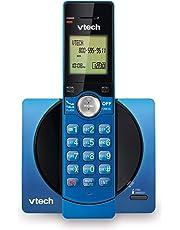 VTech DECT 6.0 Single Handset Cordless Phone with CID, Backlit Keypad and Screen, Full Duplex Handset Speakerphone, and Call Block Blue - CS6919-15