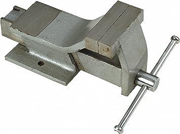 Maurer 2320027 Tornillo para banco de acero, 80 mm, gris: Amazon ...