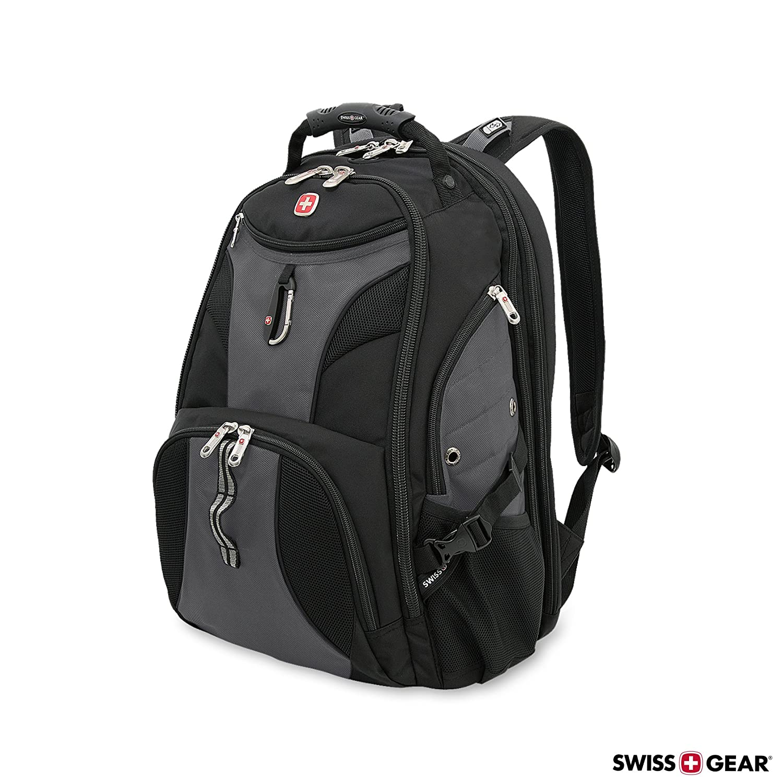 f13bb7679423 Amazon.com  SwissGear Travel Gear 1900 Scansmart TSA Laptop Backpack - 19