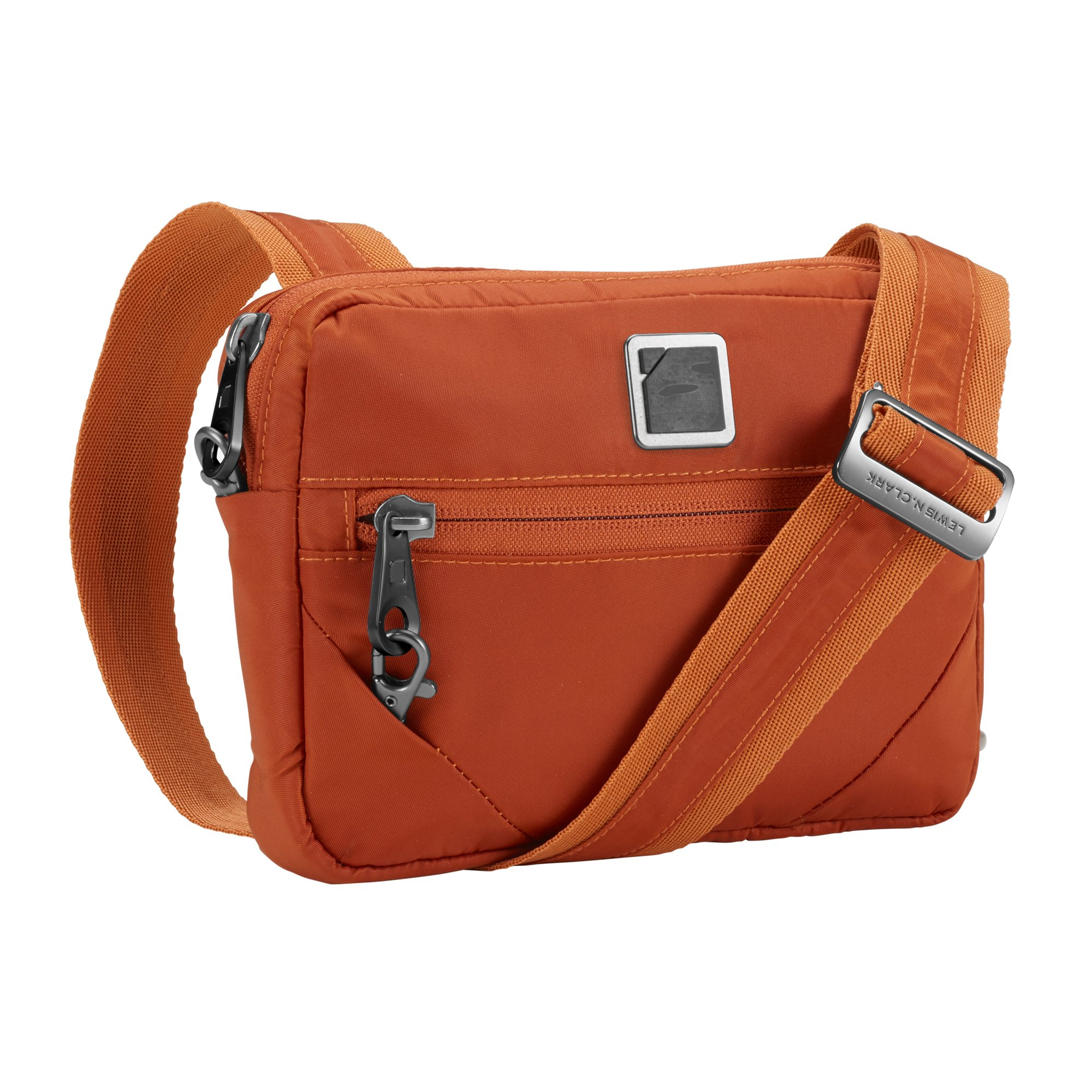 Lewis N. Clark Secura Anti-theft Commuter Shoulder Bag, Ember