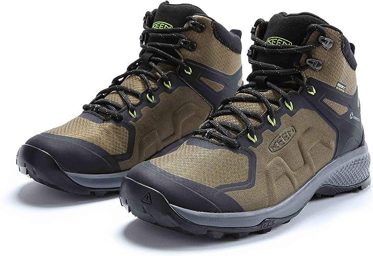 Brown Sports Outdoors Keen Mens Explore Mid Waterproof Walking Boots