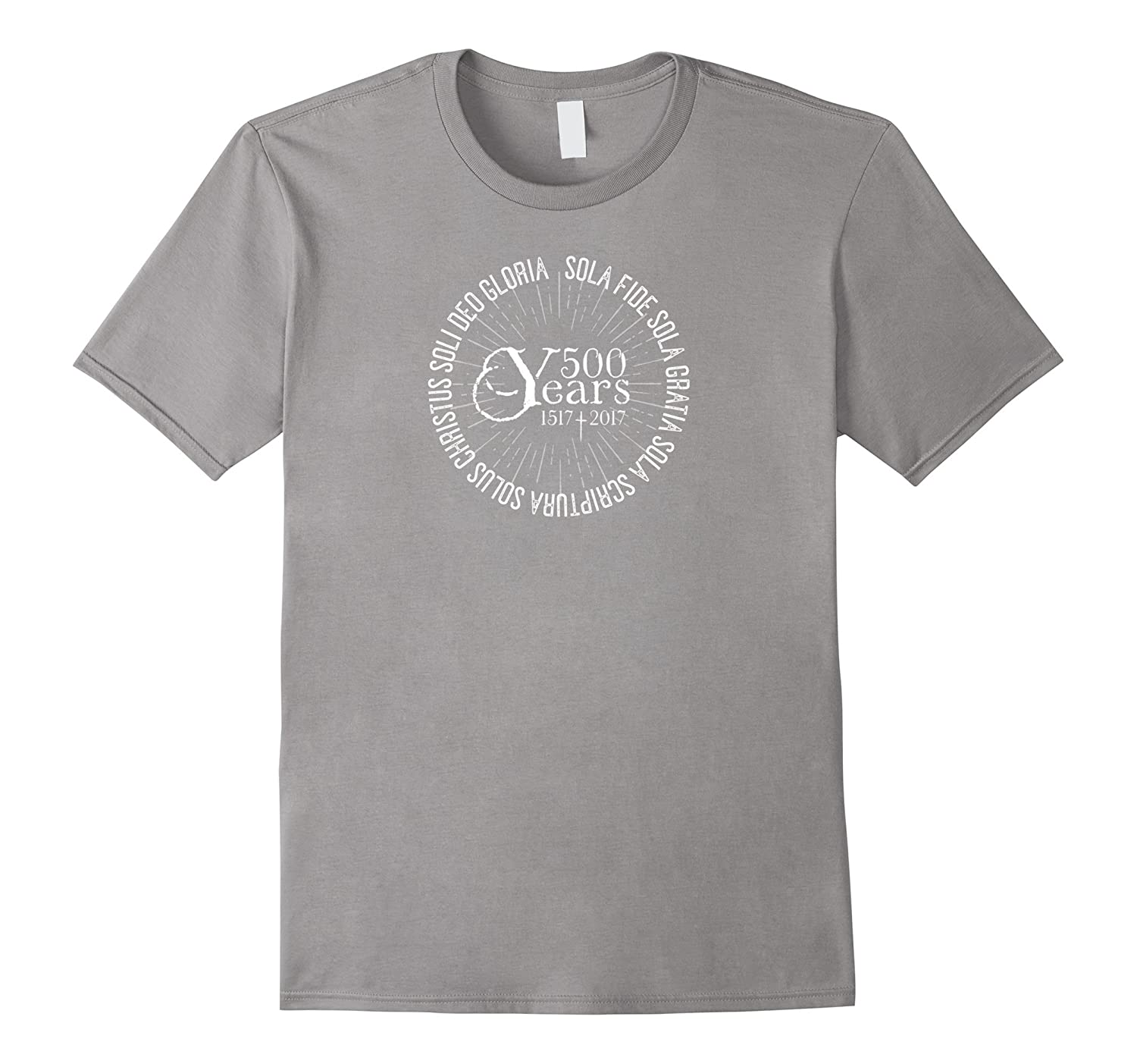 500 YEARS Reformation Shirt with 5 Solas TEE Tshirt-PL