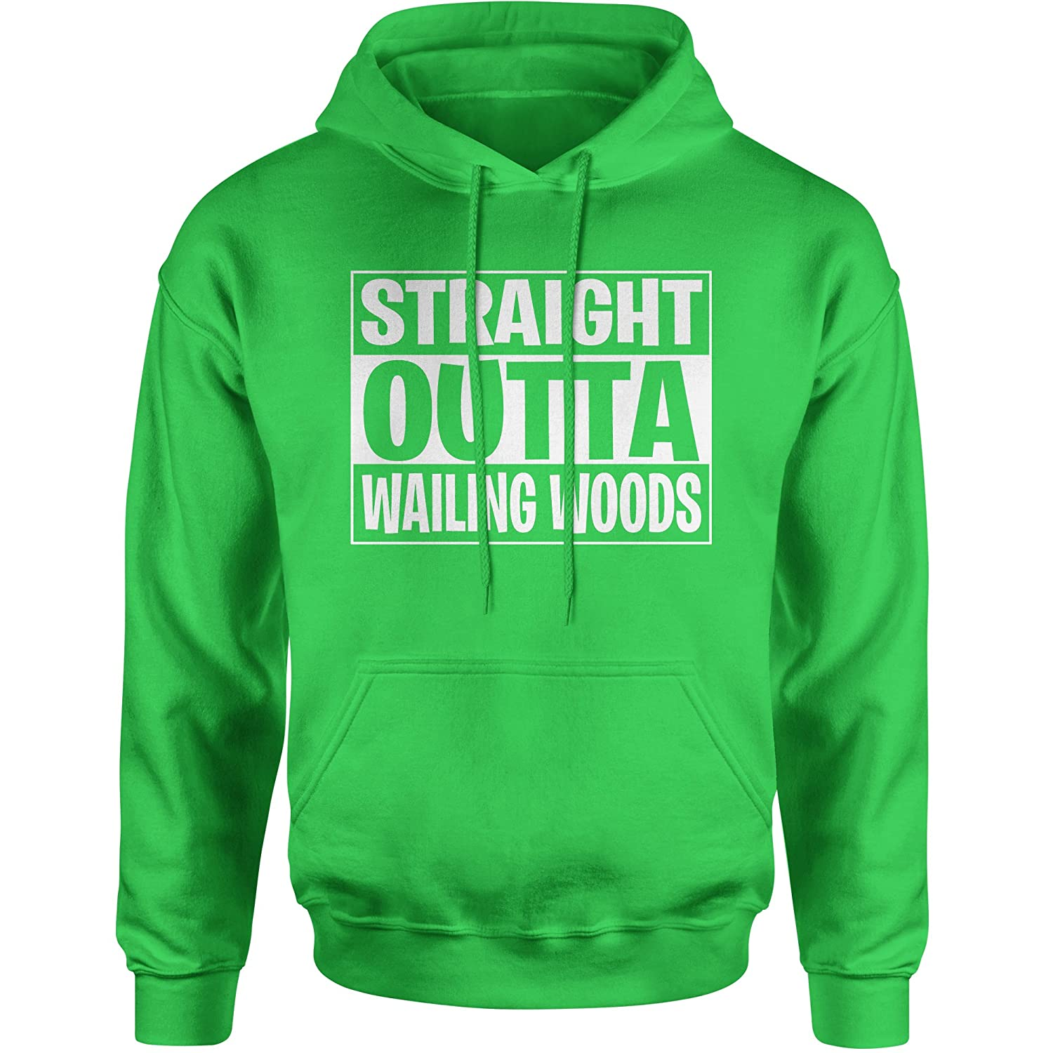 FerociTees Straight Outta Wailing Woods Fortnight Nite Game Unisex Adult Hoodie 3160-H