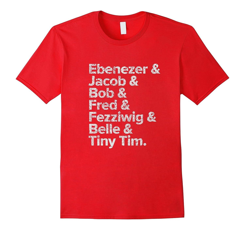Christmas Carol Characters.Ebenezer Jacob Christmas Carol Characters T Shirt Anz