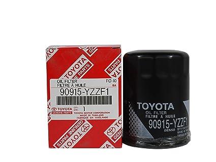 Toyota Genuine Parts >> Amazon Com Toyota Genuine Parts 90915 Yzzf1 Oil Filter Automotive